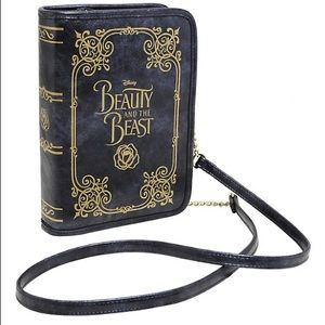 Disney Beauty and the Beast Book Purse